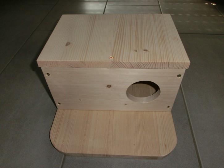 Chinchilla Schlafhaus mit Sitzbrett